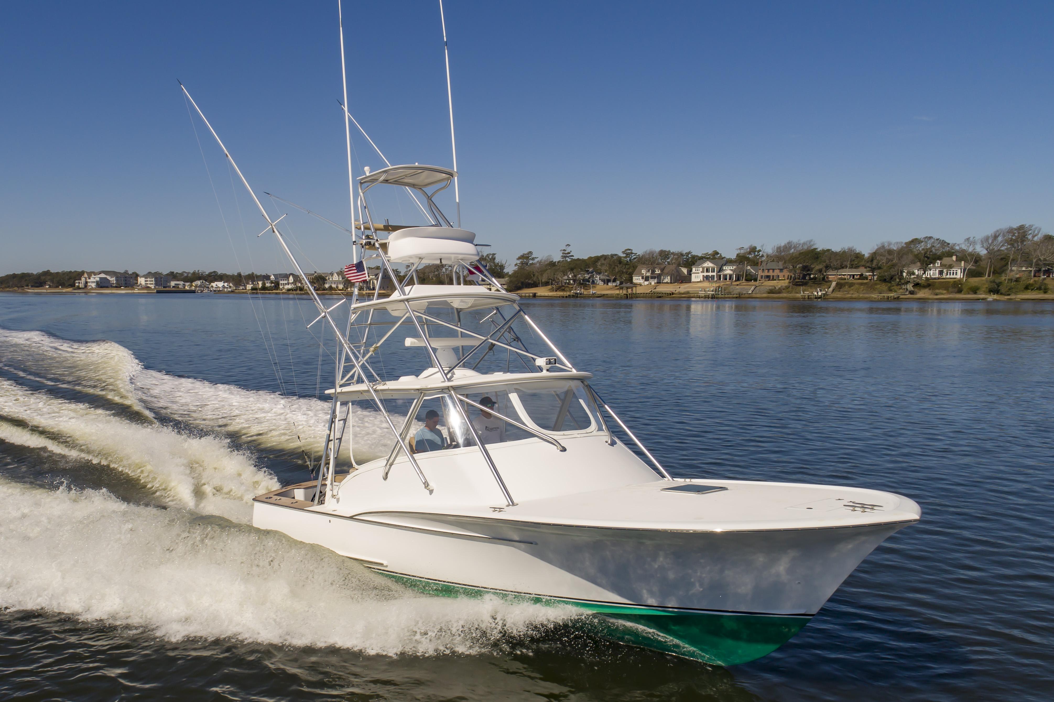 Custom Carolina 35 Shearline Boats Express