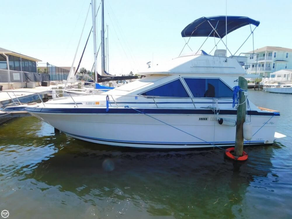 Sea Ray 305 Sedan Bridge 1988 Sea Ray 305 Sedan Bridge for sale in New Port Richey, FL