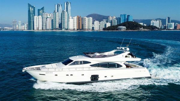Ferretti Yachts 780 Profile
