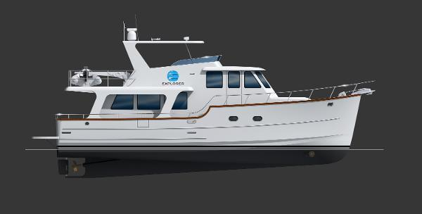 Explorer Motor Yachts Pilothouse