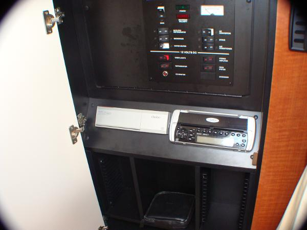 Clarion  stereo/ electrical panel