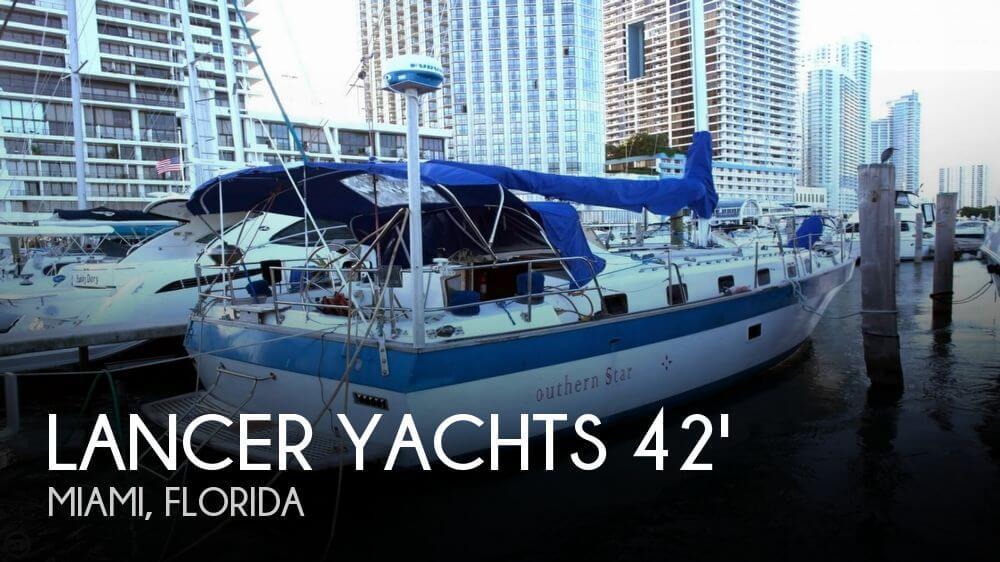 Lancer 42 masthead sloop 1981 Lancer 42 masthead sloop for sale in Miami, FL