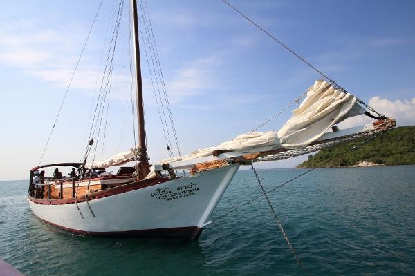 Custom 20m Teak Wood Sloop