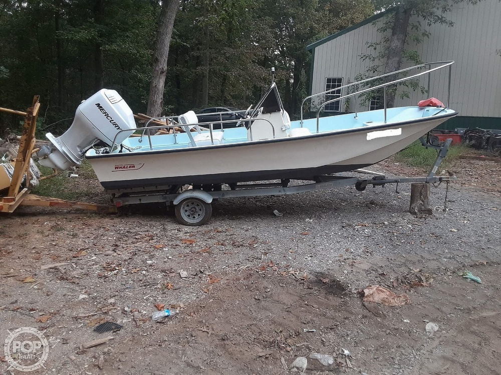 Boston Whaler 17 Montauk 1972 Boston Whaler 17 for sale in Edgewater, MD