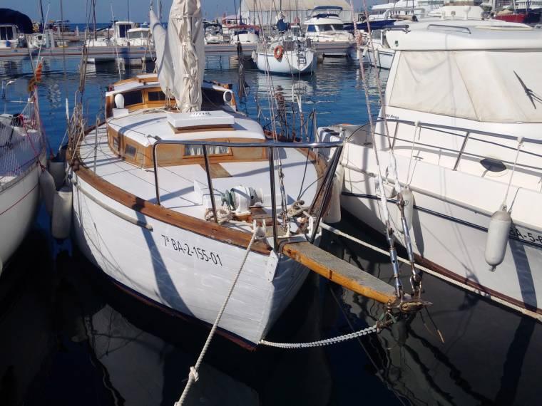 Pau Ferrer Mallorca Clasico madera Cutter 40'