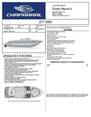 Chaparral 277 SSX