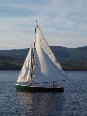 N.G. Herreshoff Biscayne Bay 14 Skiff