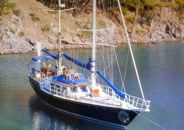 Custom Stornoway MkII 70' Steel Ketch