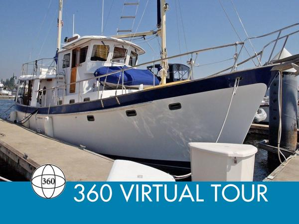 Kadey-Krogen 54 Pilothouse Trawler Main