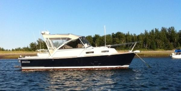 Legacy 28 Sunset Starboard Side To