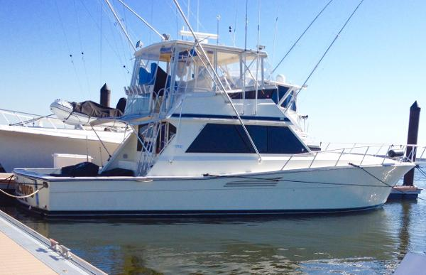 Viking 48 Conv Sport Fisher 48 Viking Convertible Sportfish 1989
