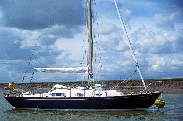 Contessa 26 On home mooring