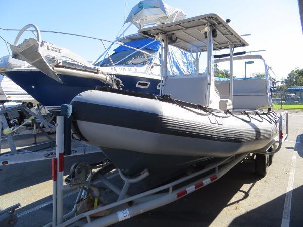 Zodiac Milpro SRMN 600 w/Trailer  Actual Boat