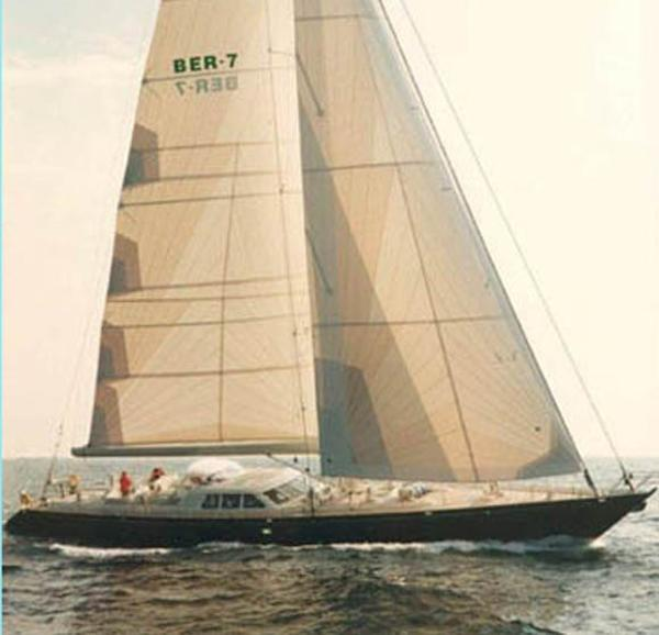 Royal Huisman Sloop Rigged Sailing Yacht Royal Huisman 112' side