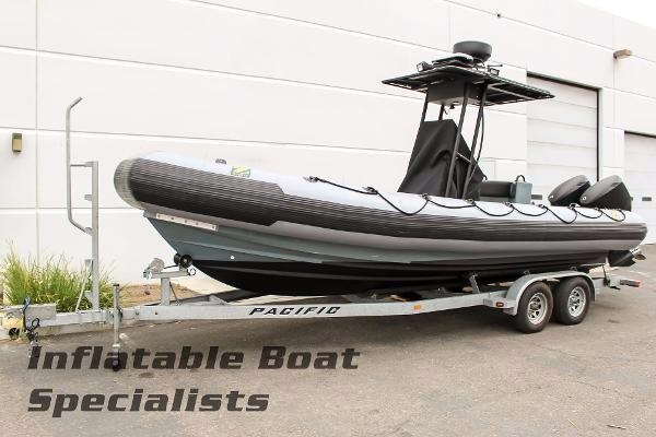 Zodiac 733 L RIB Inflatable & Trailer