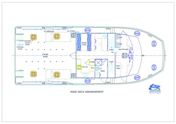 Main Deck Arrangement