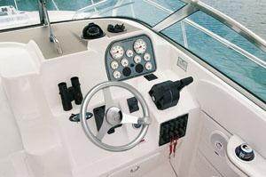 Aquasport 275 Explorer Manufacturer Provided Image: Helm