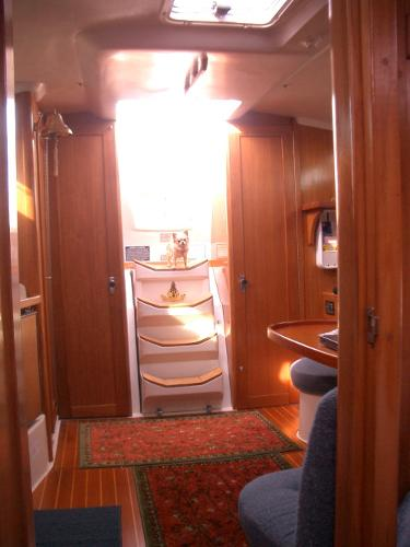 Inside looking Aft
