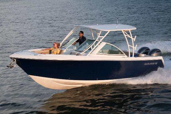 Sailfish 275 Dual Console Manufacturer Provided Image