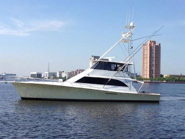Ocean Yachts Enclosed Flybridge SS Profile
