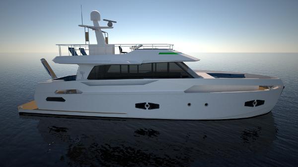 Naval Yachts GreeNaval 60 Hybrid Yacht Naval Yachts GreeNaval 60 Hybrid Yacht