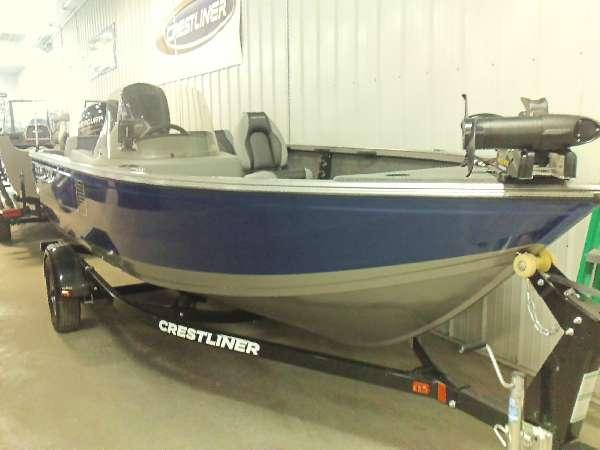 Cedar lake sales boats for sale 5 for Crestliner fish hawk