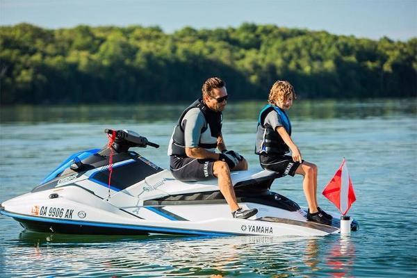 Yamaha EX Sport White & Blue