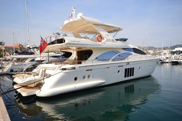 Azimut 78 Flybridge Actual vessel