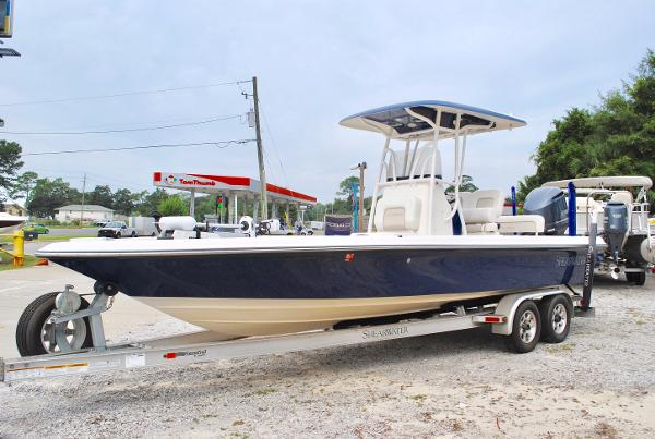 Shearwater 25LTZ USED-2015-SHEARWATER-25-LTZ-BAY-BOAT-FOR-SALE