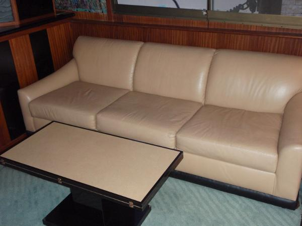 Custom Three Seat Sofa/Bed