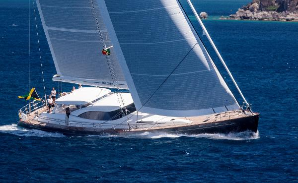 Fitzroy yachts 38 Meter Dubois Profile