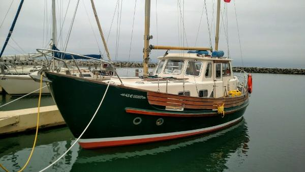 Fisher 30 Ketch Aft Cabin
