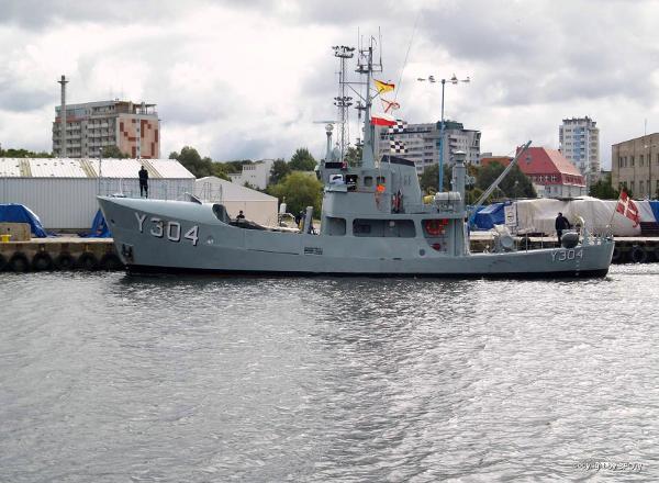 Svendborg Shipwerft Denmark 26M TRAWLER / UTILITY / GUARD Sistership