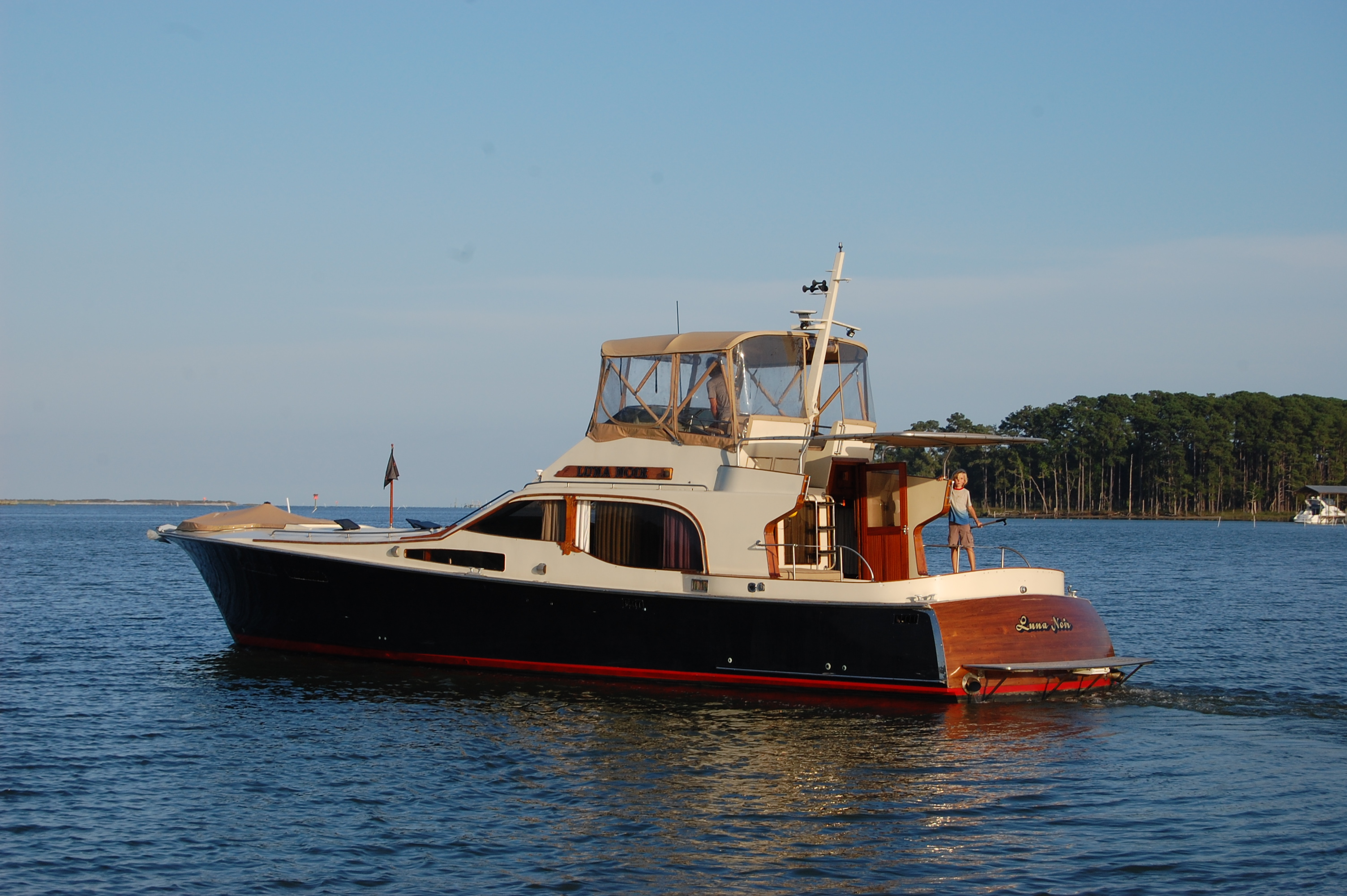 Cheoy Lee 52 Midnight Lace 52' Midnight Lace, port stern