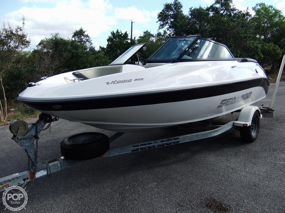 Sea-Doo 205 Utopia 2016 Sea-Doo UTOPIA 205 for sale in Mico, TX