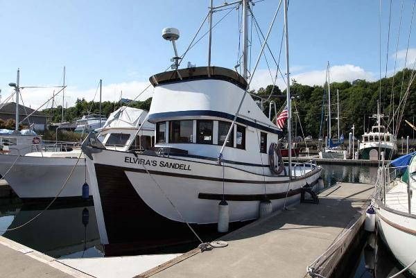Custom Stockland Trawler 36 Main Profile
