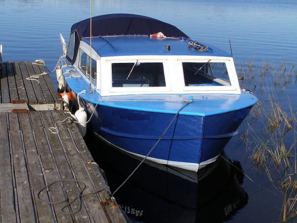Custom Steel Inboard Cruiser