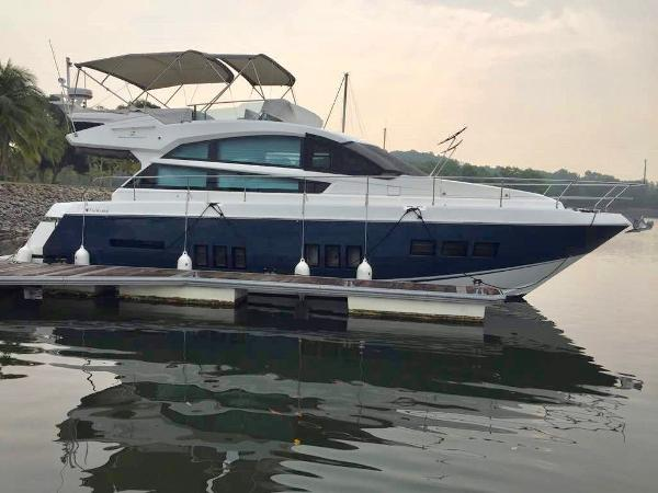 Fairline Squadron 50 Starboard profile