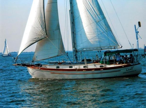 Tayana 37 Voyager Cutter Liat Sailing