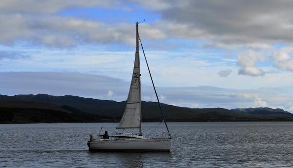 Beneteau First 235 Beneteau First 235 - Cygnet under sail