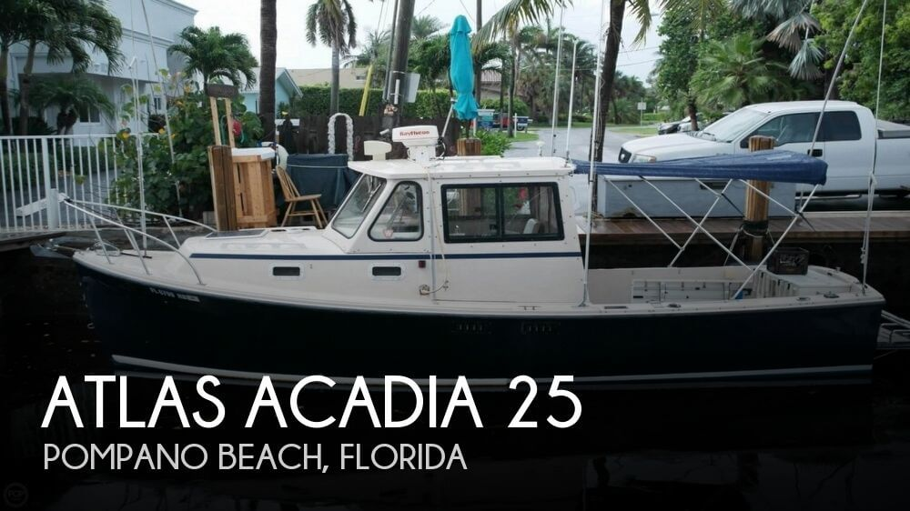 Atlas Acadia 25 1997 Atlas Acadia 25 for sale in Pompano Beach, FL