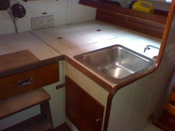 Sink & Icebox to Port