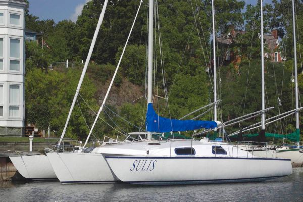 Norm Cross 48 Custom Trimaran Port Profile
