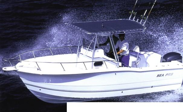 Sea Pro 235 Center Console/07Suzuki  Manufacturer Provided Image