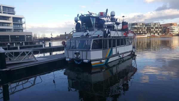 Custom Pontoon Charter Boat