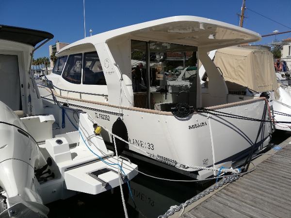 Greenline 33 greenline 33 demonstration boat