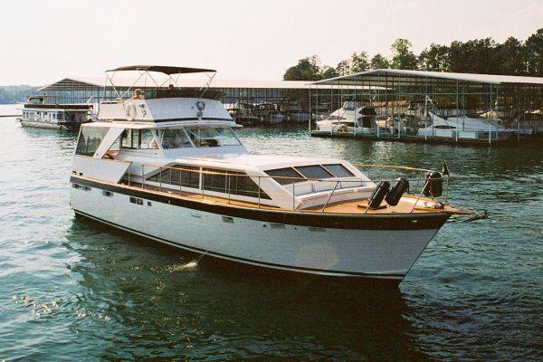 Trojan 50 Tri Cabin Starboard forward quarter