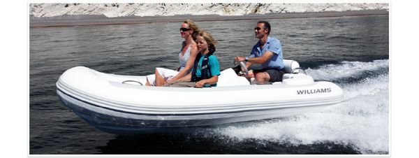 Williams Jet Tenders Turbojet 325 Williams Jet Tenders Turbojet 325 - Brochure running shot