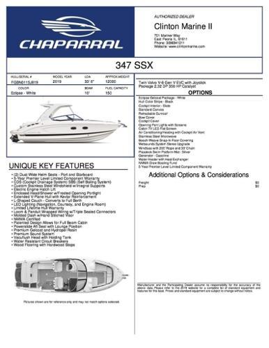 Chaparral 347 SSX