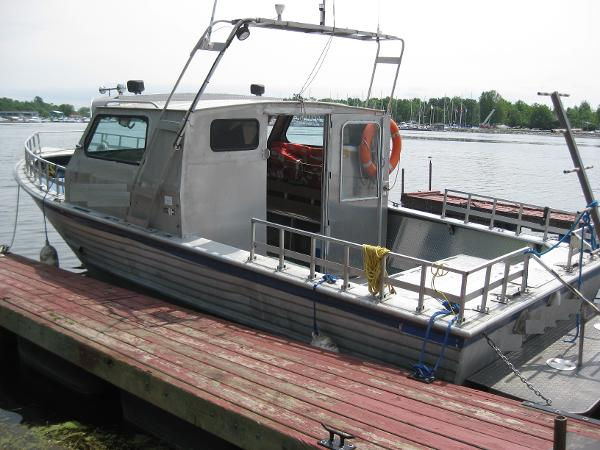 Commercial Aluminum Work/Dive Boat
